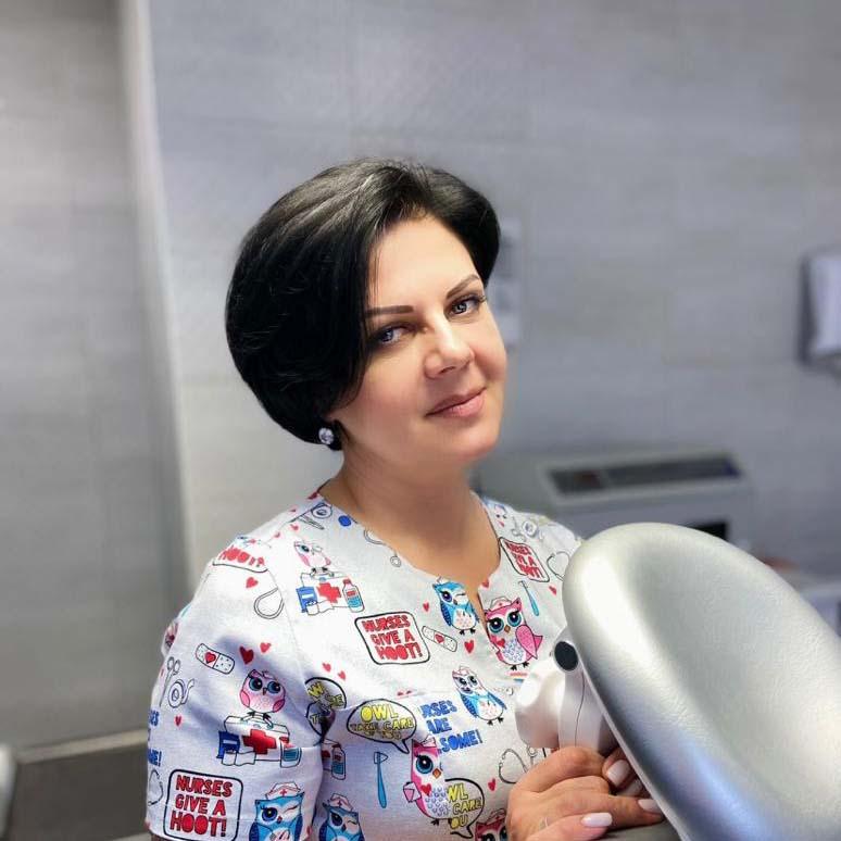 Стоматолог-терапевт Глинских Татьяна Петровна